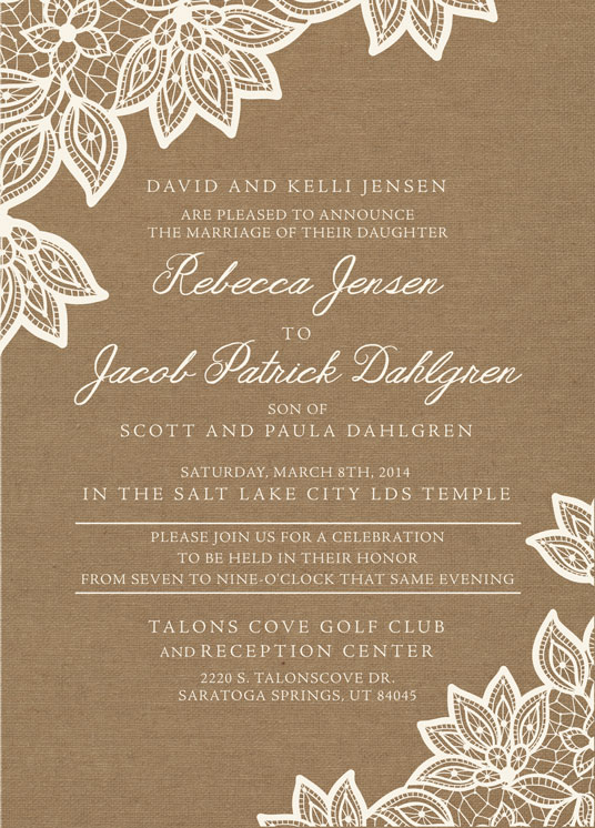 becca_front Wedding Invitations