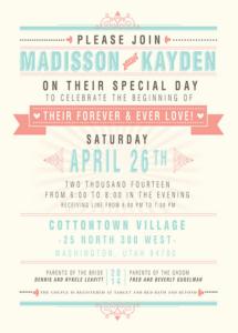 madisson_front Wedding Invitations