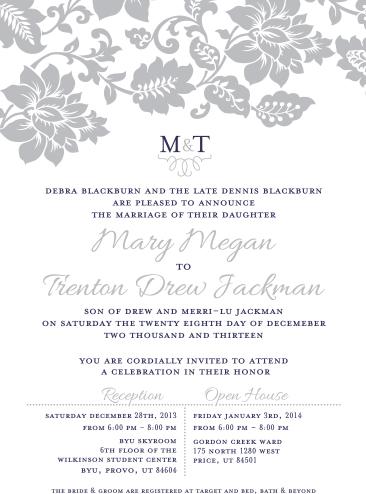 mary_front Wedding Invitations