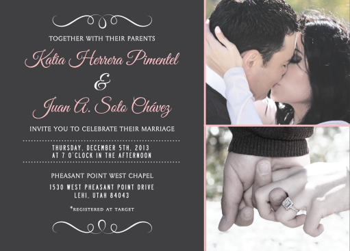 katia_front Wedding Announcements