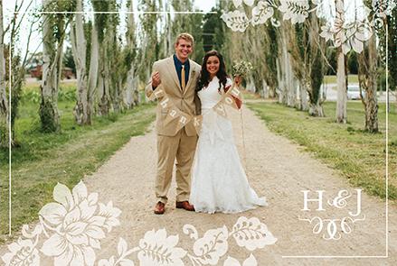 hanna_thank_front Wedding Announcements