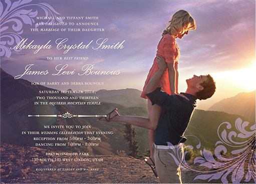 mikayla_james_front Wedding Invitations