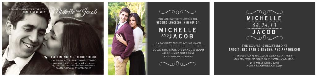 Michelle Wedding Invitations