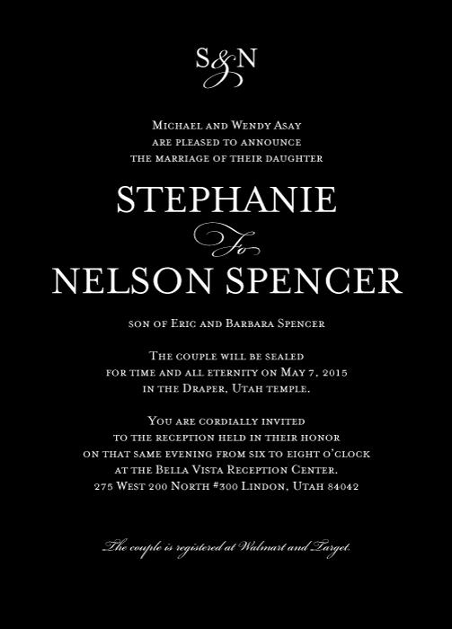 invitation-5x7-Stephanie-Nelson-front Wedding Invitations
