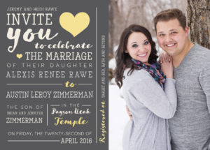 alexis_front_web Wedding Invitations