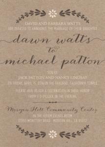 dawn_front_web Wedding Invitations