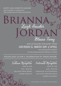 brianna_front_web Wedding invitations