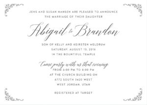 abigail-hansen-invite-front Wedding Invitations