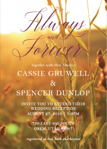 cassie-gruwell-invite-front Wedding Invitations