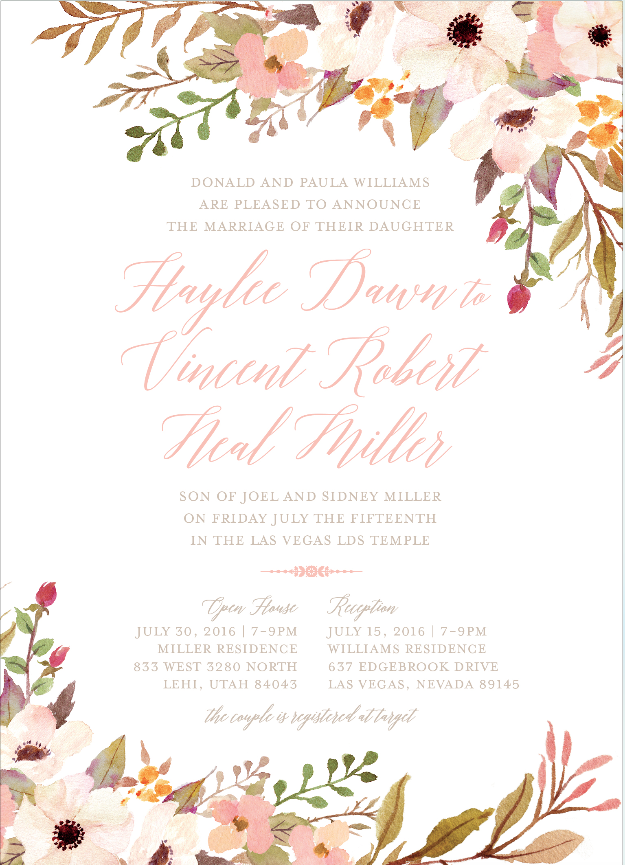 haylee-williams-front wedding invitation