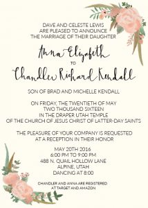 anna-and-chandler-5x7-front Wedding Invitations