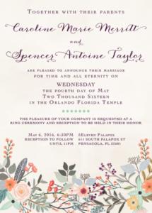 caroline-and-spencer-front Wedding Invitations