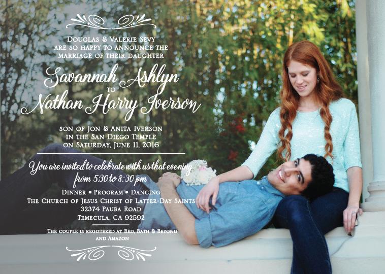 savannah-and-nathan-5x7-front Wedding Invitations
