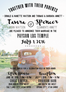 tamra-watson-front Wedding Invitations