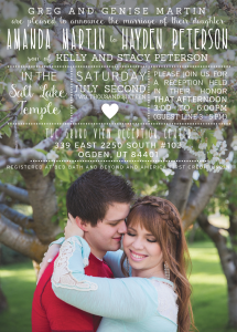 amanda-martin-front Wedding Invitations