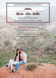Abbie-Albrecht Wedding Invites
