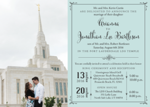 arianna wedding invitations