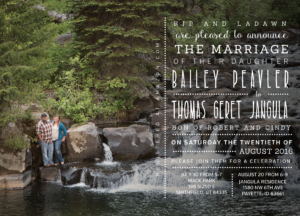 Bailey-Peavler-Front Wedding Invitations