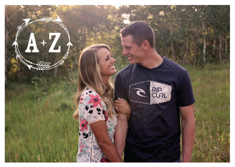 Ashlee-and-Zane-5x7-back Wedding Invitations