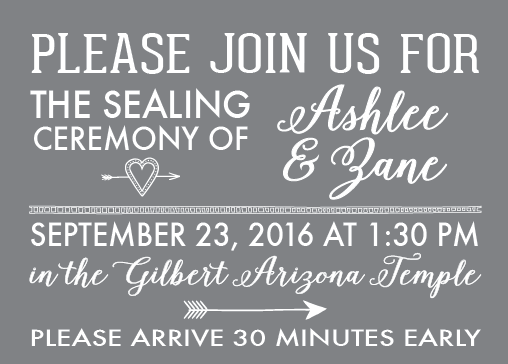 Ashlee-and-Zane Wedding Invitations