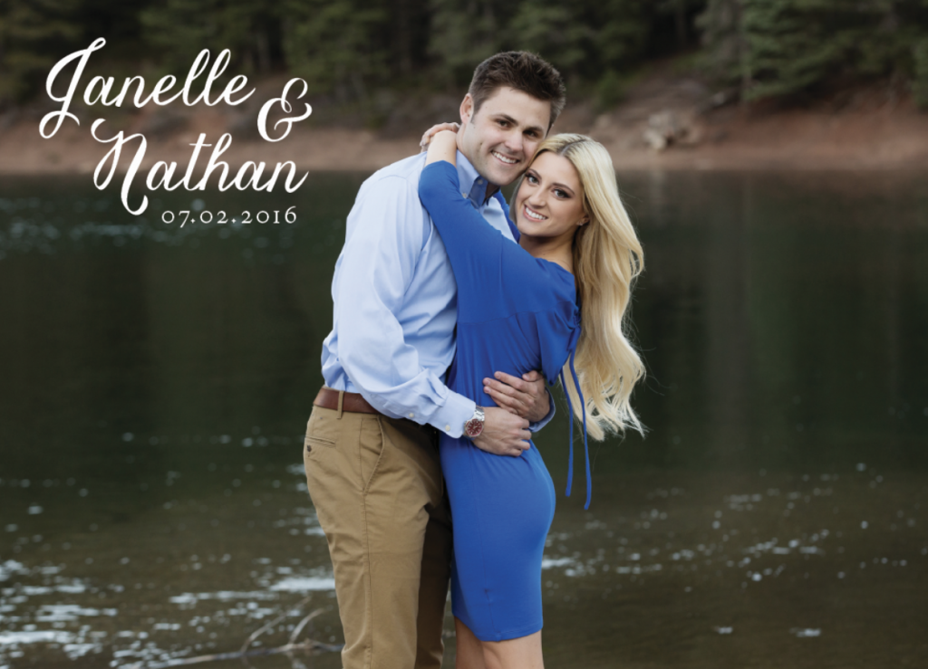 Janelle Wedding Announcements