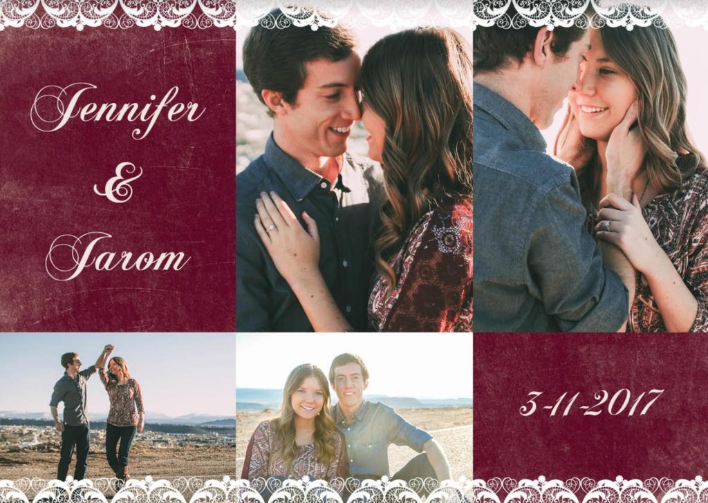 Jennifer-and-Jarom-Wedding Invitation