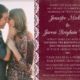 Jennifer-and-Jarom wedding Card