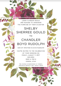 Shelby-and-Chandler-Front Wedding invitations