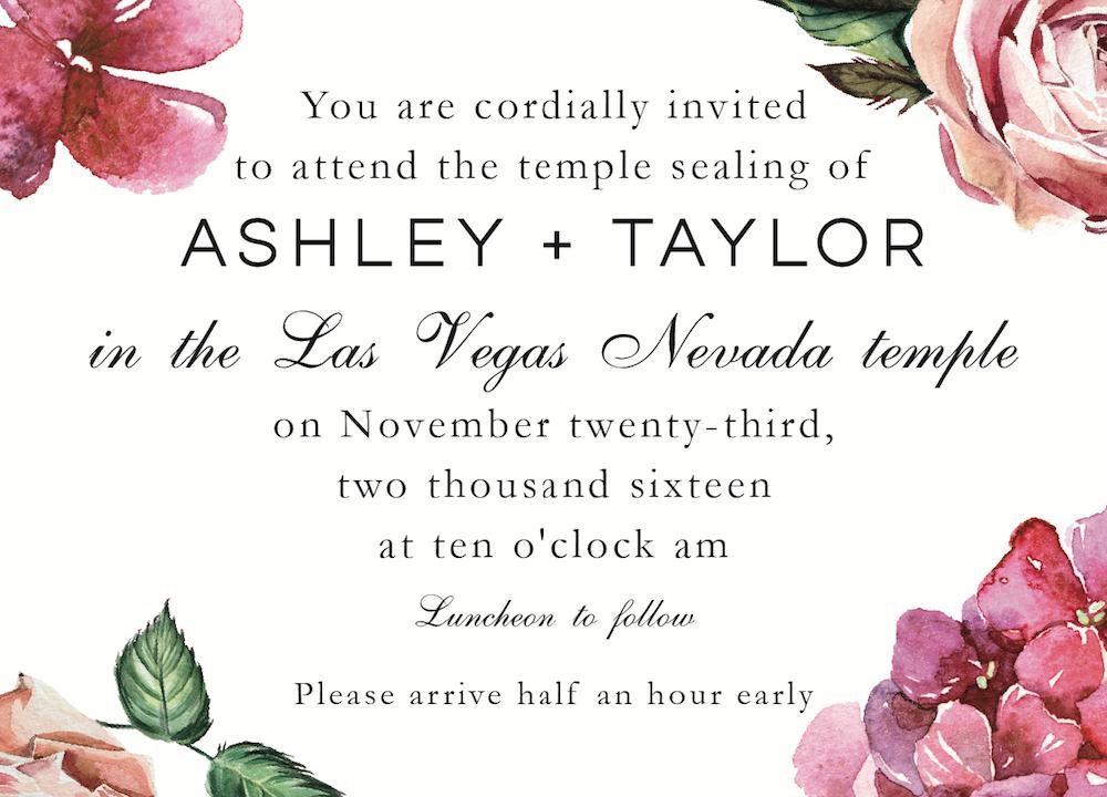 Ashley-Edington-ceremony-front Wedding Invitations
