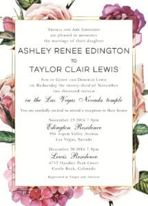 Ashley-Edington-front Wedding invitaitons