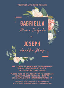 Gabriella-invite-front Wedding Invitations