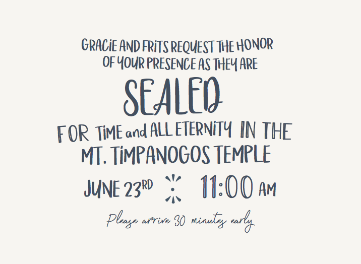 Gracie-Simmons-Ceremony-Front Wedding Invites