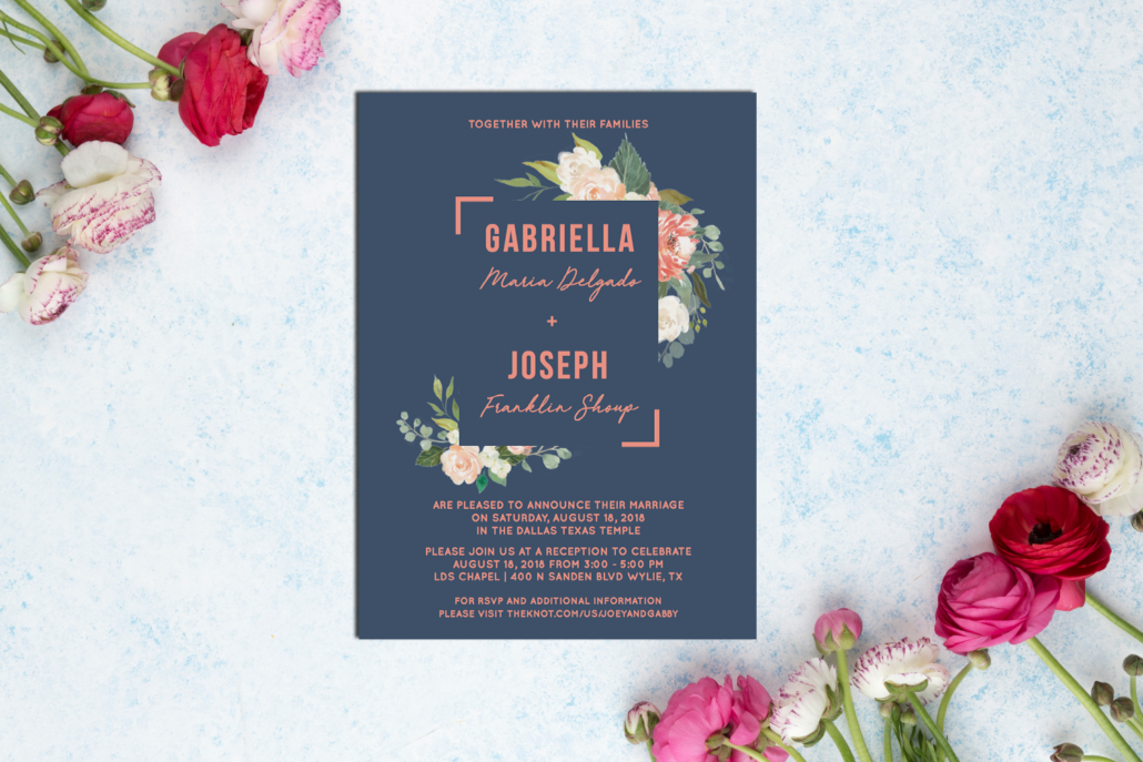 Natural Style Wedding Invitation Ideas