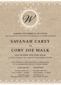 Wedding Invitations Ideas 2021