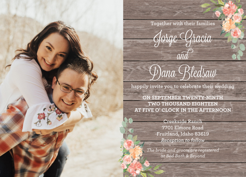 Wedding announcements  ideas in 2021